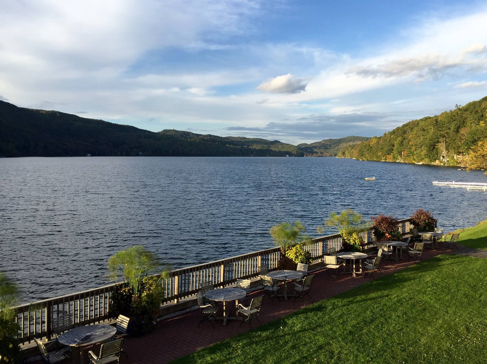 18 - Beautiful views of Lake Morey from the Resort restaurant