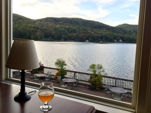 19 - Beautiful views of Lake Morey from the resort restaurant