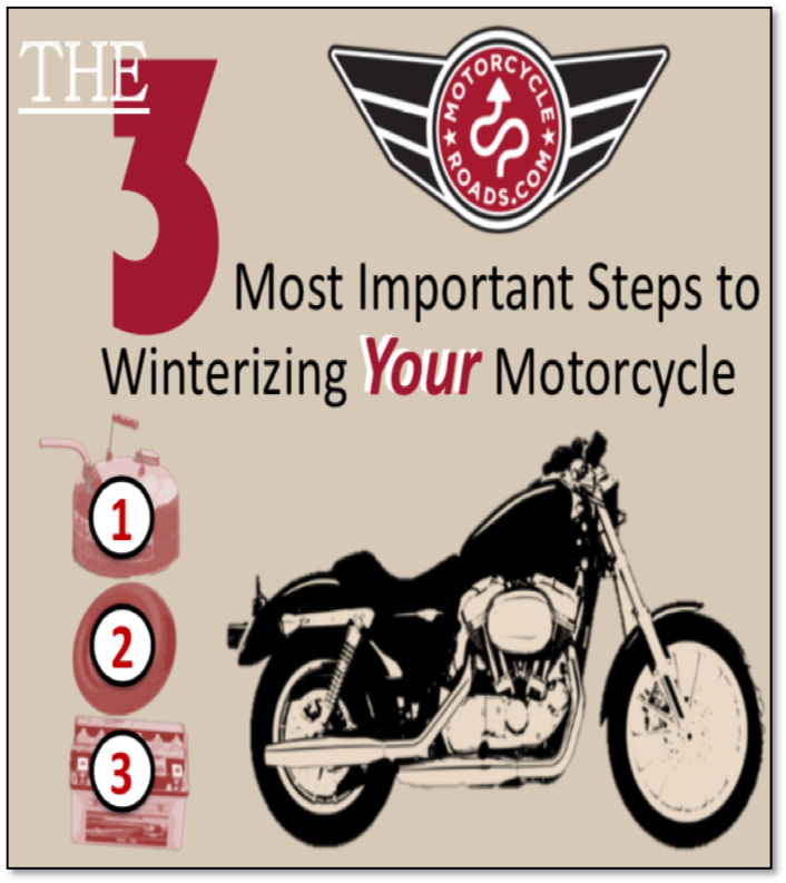 3 keys to winterizing your motorcycle