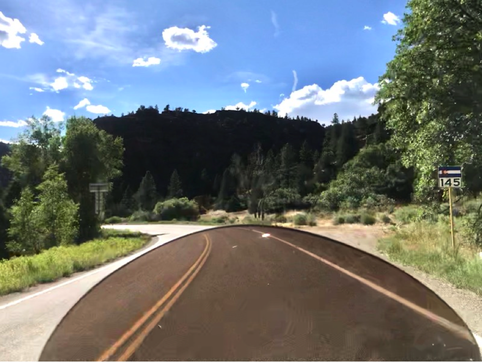 Along CO Route 141 - One of the best motorcycle ride's in Colorado