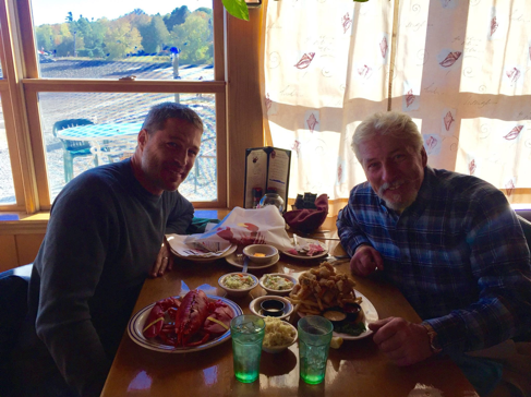 47 - Eating lobster on the coast of Maine - a dream come true!