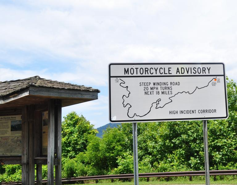 Cherohala Skyway motorcycle ride