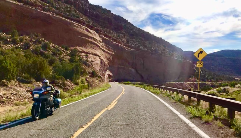 ​​CO Route 141 - Among Colorado's best motorcycle rides!