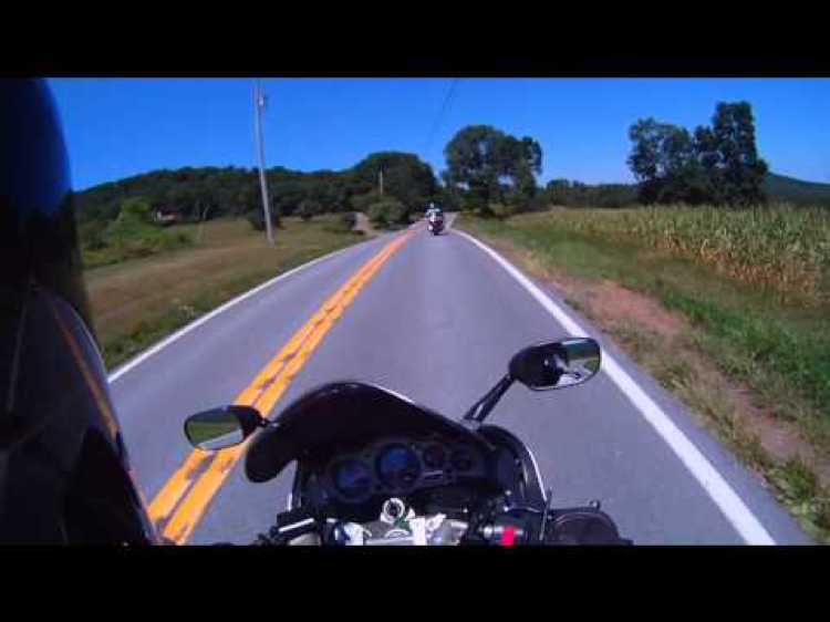PA 26 is a motorcycle ride in South PA