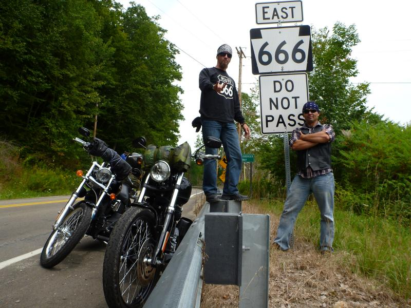 PA motorcycle ride - PA route 666