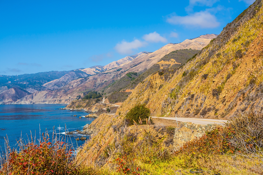 PCH california motorcycle ride