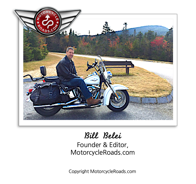 McR - Great motorcycle roads lead to great motorcycle rides!