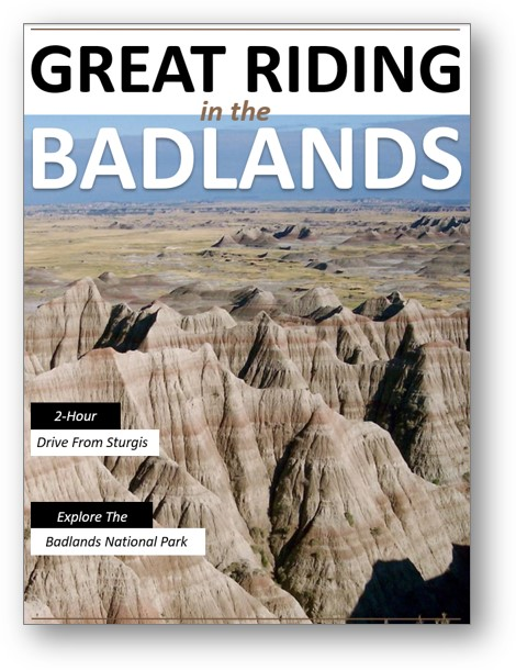 guide to motorcycle rides in badlands south dakota area