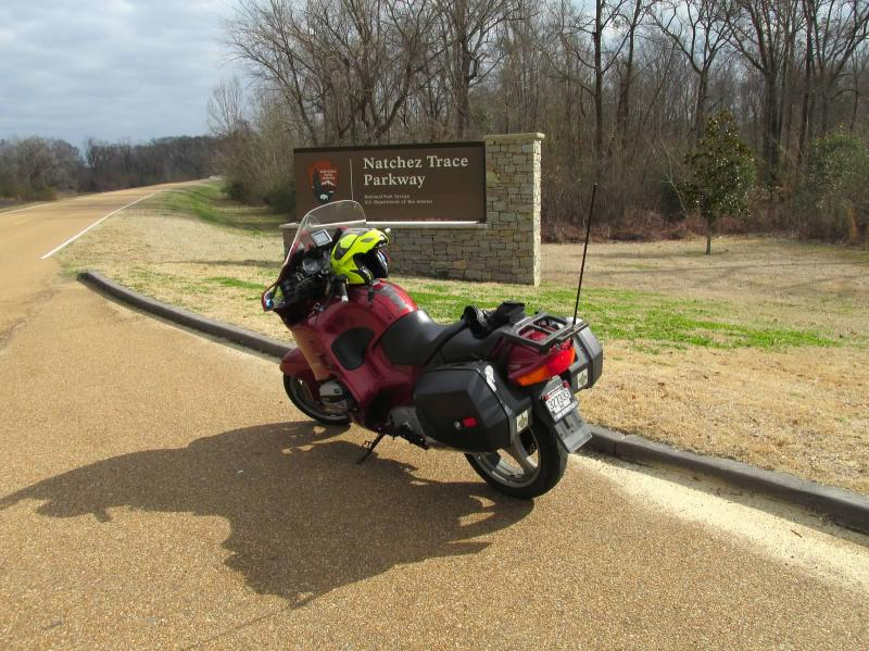 natchez trace motorcycle-ride