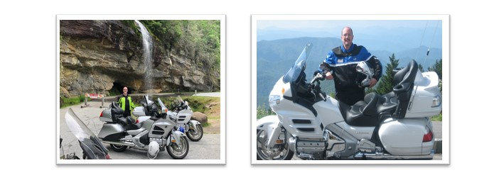 North Carolina's motorcycle road ranger