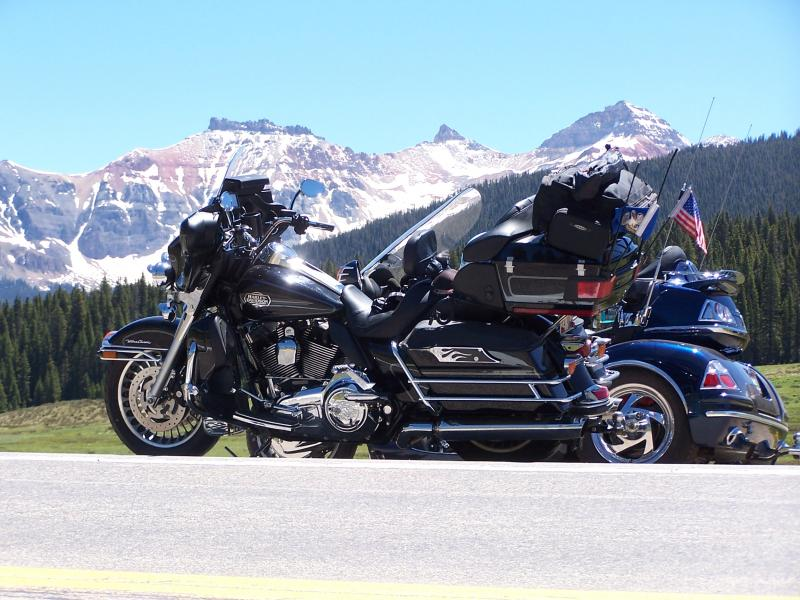 san juan mountain sky way colorado motorcycle ride