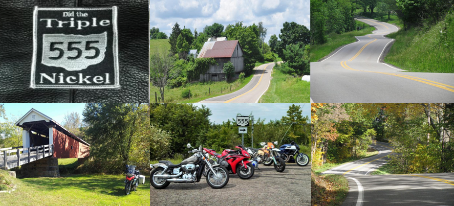 mc riding hotspot near Michigan  - Southeast Ohio