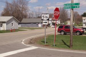 Ohio Route 516 from Dover to Dundee