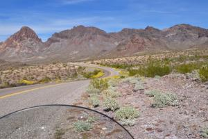 Old Route 66 South of Kingman