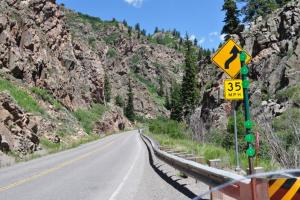 Montrose to Gunnison, Highway 50