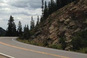 Hwy 66/103 Evergreen Parkway to Mt Evans turnoff