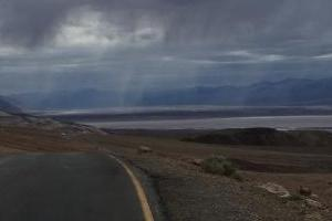 Through Death Valley on Badwater Rd