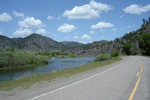 Cascade to Holter Lake along the Missouri River