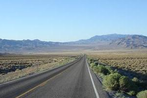 "Old Hwy 50 - ""The Loneliest Road In America"""