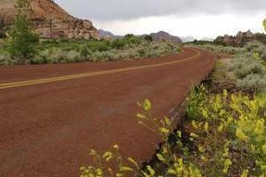 Kolob Road from Virgin, Utah