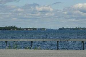 Lake Champlain Islands on US Route 2