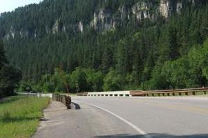 The Scenic Route from Custer, SD to Devils Tower, WY