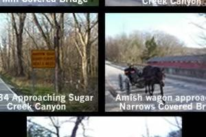 West Central Indiana: Hwy 234 & Sugar Creek Canyon