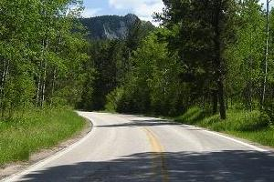 16 A to and thru Custer State Park