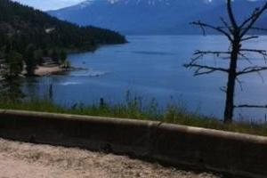 Creston, BC to Kootenay Bay