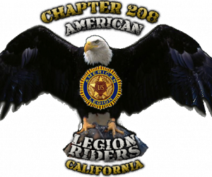 AMERICAN LEGION RIDERS CHAPTER 208 |  California