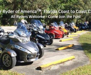 Spyder Ryders of America Central Florida Coast to Coast Chapter |  Florida